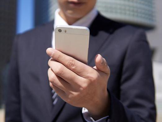 スマートフォン利用のイメージ画像