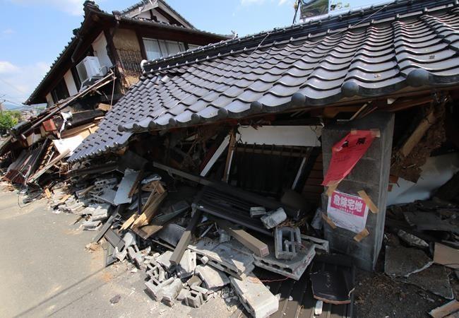 熊本地震(大越撮影)