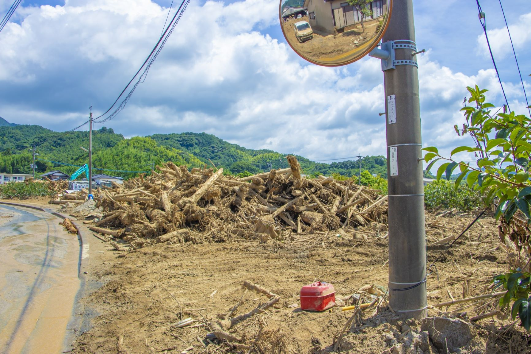 平成29年7月九州北部豪雨の爪痕