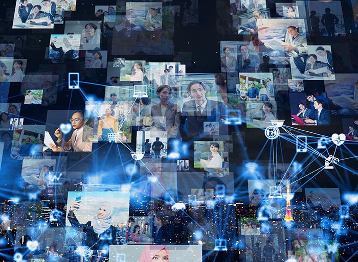 情報ネットワークのイメージ画像