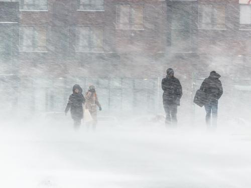 暴風雪のイメージ画像