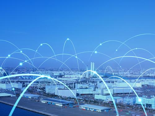 産業とネットワークのイメージ図