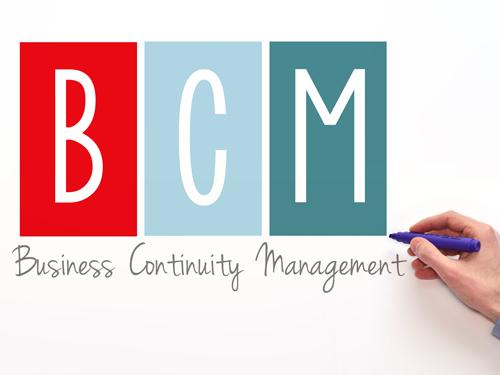 BCMの文字と手