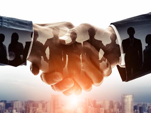 ビジネス 協力のイメージ